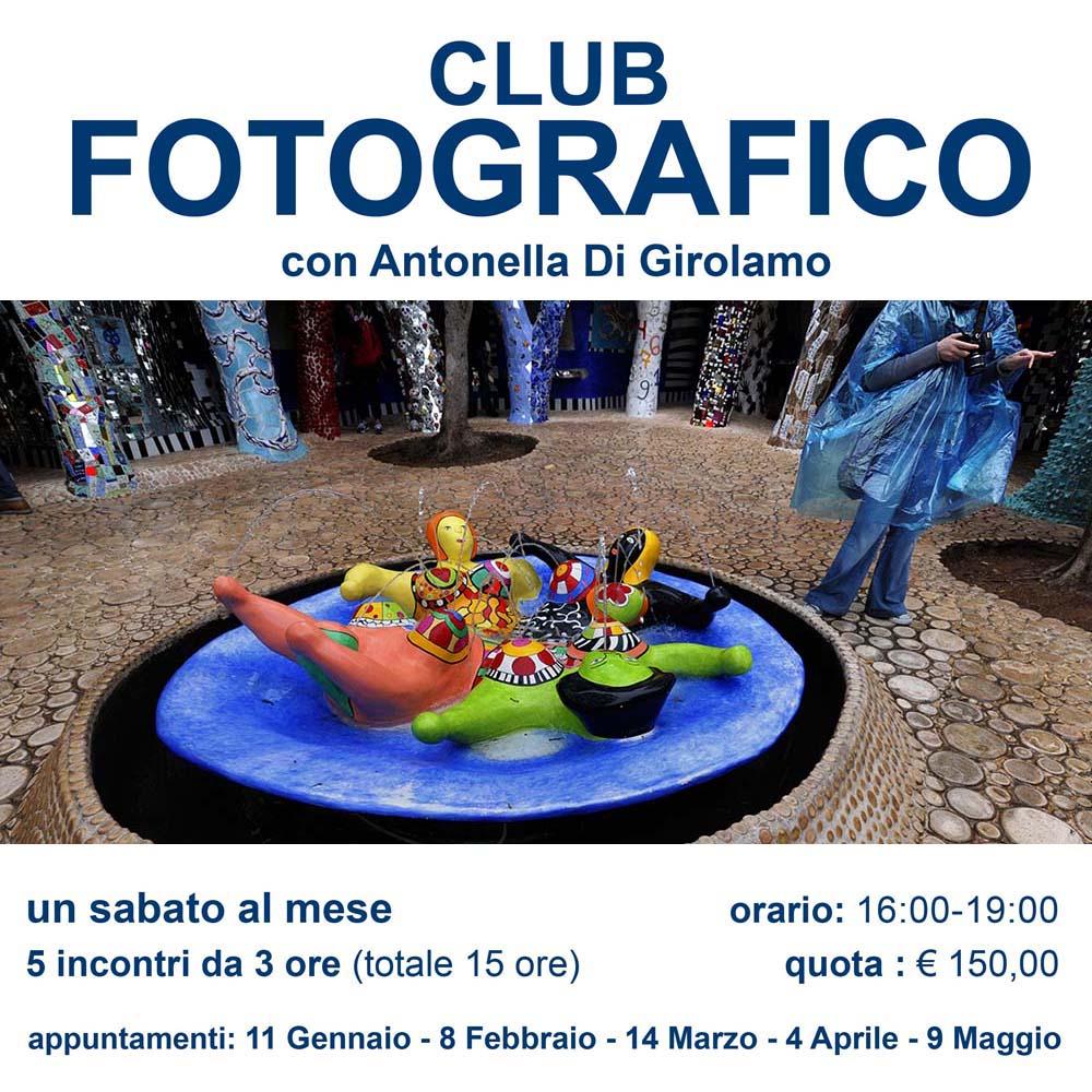 CLUB FOTOGRAFICO DEL SABATO POMERIGGIO