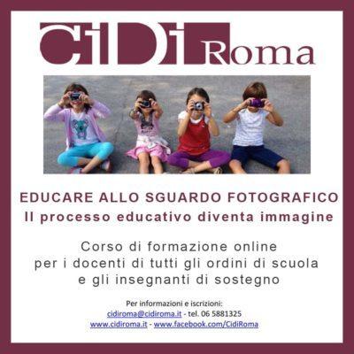 CIDI – EDUCARE ALLO SGUARDO FOTOGRAFICO